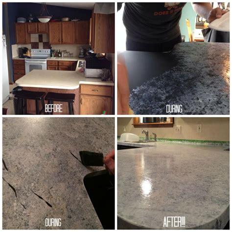 giani granite countertop paint process