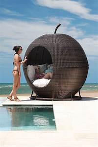 Fauteuil D Extérieur : igloo apple day bed fauteuil lounge d 39 ext rieur en forme de pomme ~ Teatrodelosmanantiales.com Idées de Décoration