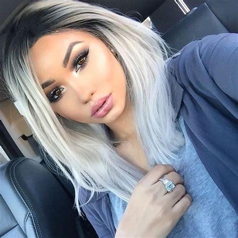 Best 25 White Ombre Hair Ideas On Pinterest White Ombre