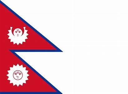 Nepal Flag 1962 Ratio Aspect Svg Map
