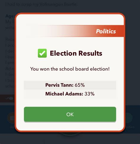 bitlife president guide become office elected minister politics prime run guides occasionally favors asked political