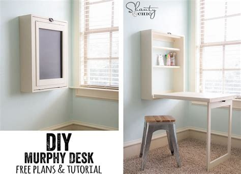 DIY Murphy Desk