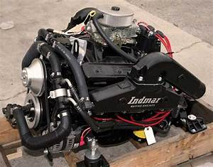 Indmar 5 7l Complete Inboard Marine Engine Package With Transmission