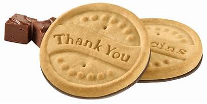 Cookies Scout Thanks Lot Cookie Thank Shortbread