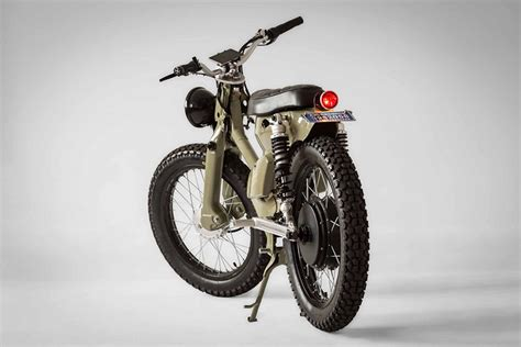 The Honda Ecub 2, An Electric Motorcycle By Shanghai Customs