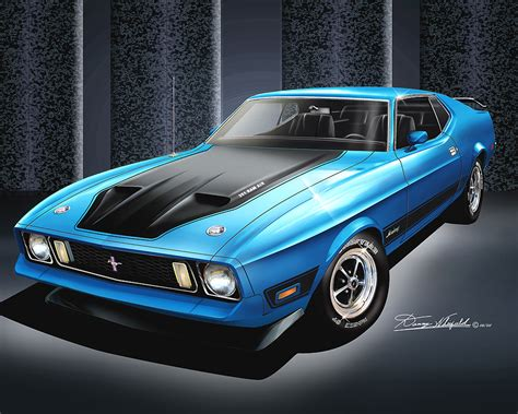 ford mustang fine art prints posters  danny