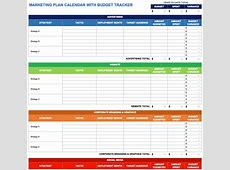 social media calendar template excel marketing plan