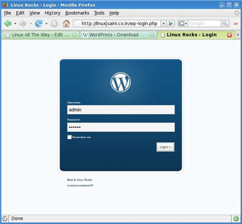 How To Install Wordpress On Lamp  Tech Stuff