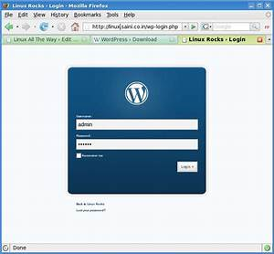 How To  Install Wordpress On Lamp
