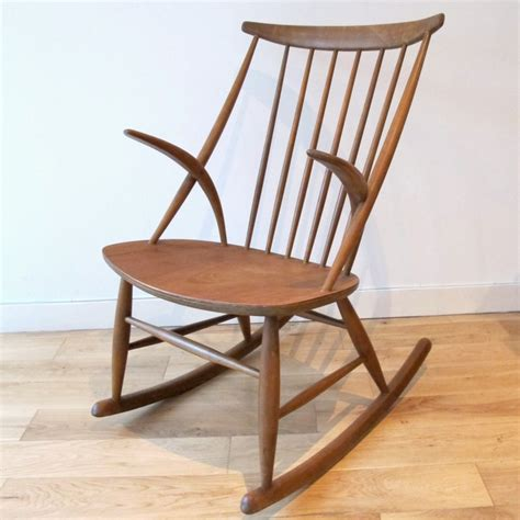 1960s illum wikkels 248 rocking chair from among my