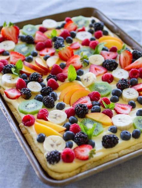 easy fruit flan recipe favesouthernrecipes