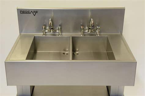 space saving kitchen sinks space saving manual deconatamination sinks neocare 5638