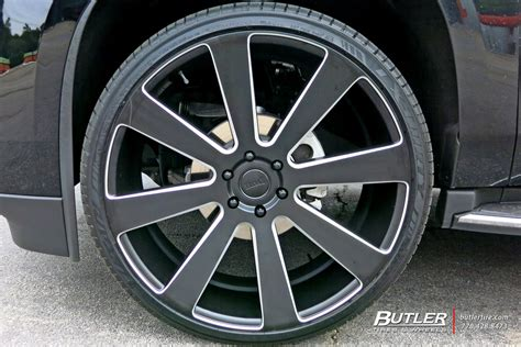 cadillac escalade   dub  ball wheels exclusively