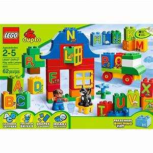 lego duplo bricks and more play with letters play set With lego duplo play with letters