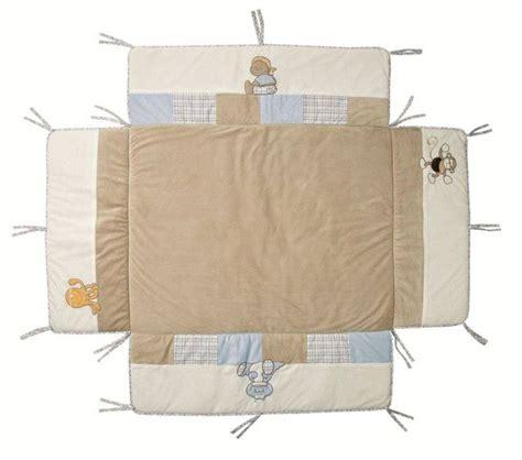 noukies tapis de parc avec bord bill et bono 100x100 cm
