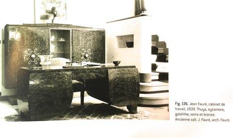 loupe de bureau bureau de jean fauré loupe de thuya époque 1939 bureaux