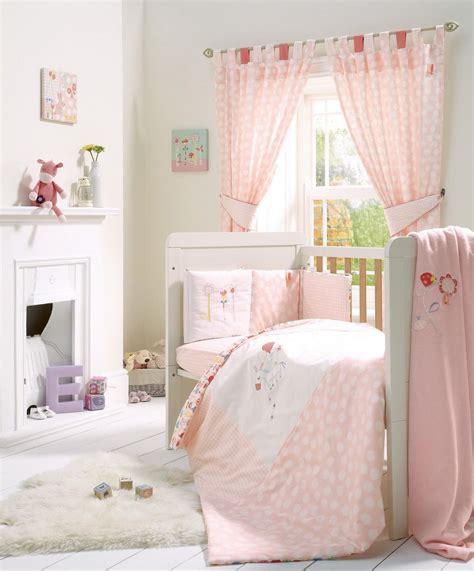 baby cot drapes pink lemonade 5 cot cotbed bedding curtains set