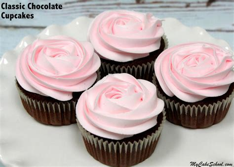 cupcake recipes classic chocolate cupcakes from scratch my cake school