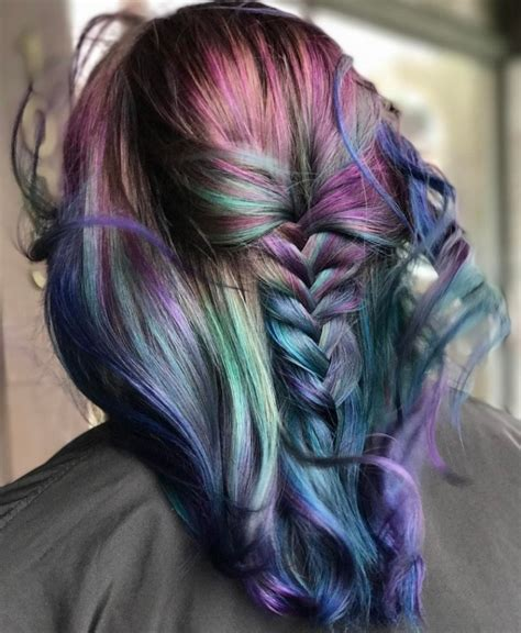 Oil Slick Hair Everything To Know About The Fun Color Trend
