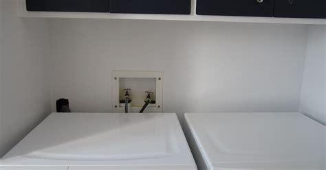 hiding  washer  dryer plumbing hometalk