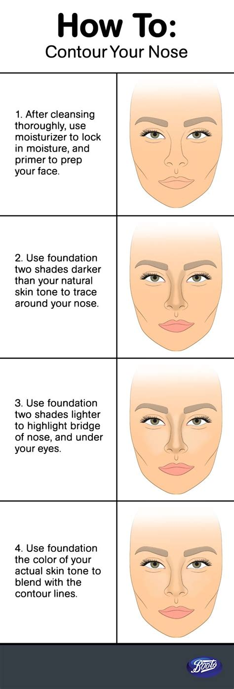learn   contour  nose   pros quick tips   pinterest katie omalley