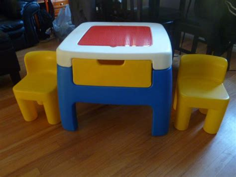 tikes table and chairs with drawers tikes lego table and chairs saanich