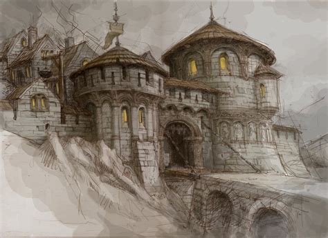 Gate To Dwarfs Town By Hetman80 On Deviantart