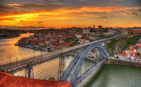 bureau paysage dom luís i papier peint pont voir cityscapes pour l