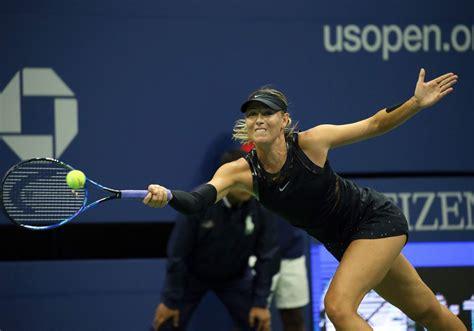 maria sharapova    open tennis championships day