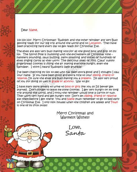 santa claus letter pole santa letters pole letters from santa claus 11808