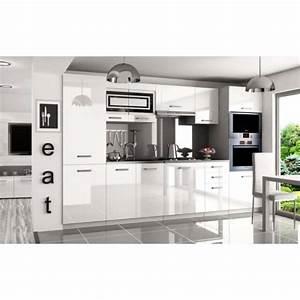 Cuisine Complète Pas Cher : justhome syntka pro cuisine quip e compl te 300 cm ~ Melissatoandfro.com Idées de Décoration