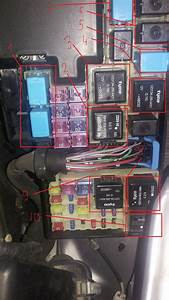 Fuse And Relay Box Diagram - Mazda Forum