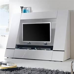 Tv Wand Weiß : best tv wand wei hochglanz ideas ~ Sanjose-hotels-ca.com Haus und Dekorationen