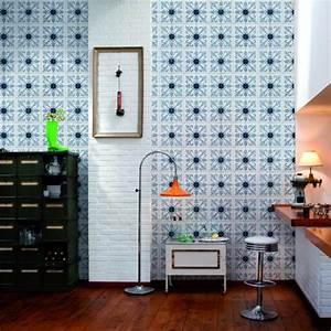 Papier Adhésif Carreaux De Ciment : le motif carreaux de ciment dans l 39 int rieur ~ Premium-room.com Idées de Décoration