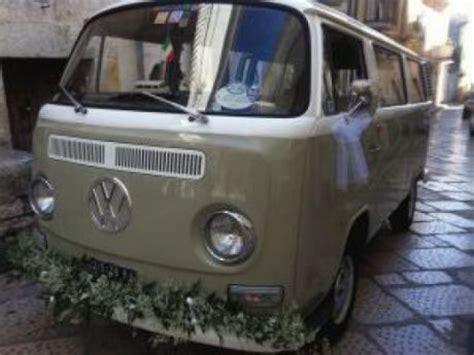 volkswagen volkswagen  pulmino auto epoca  matrimonio
