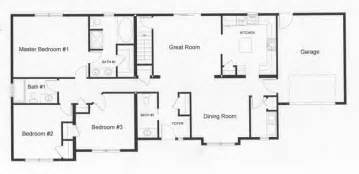 floor plans for ranch style houses ranch floor plans monmouth county county new jersey rba homes