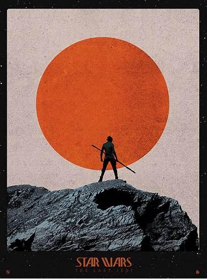 Last Jedi Wars Star Needle Poster Matt