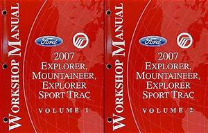 2007 Ford Explorer Mercury Mountaineer Wiring Diagram