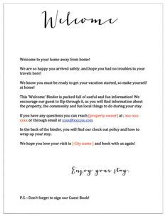 airbnb  letter template   airbnb