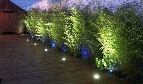 night yard landscaping  outdoor lights  beautiful