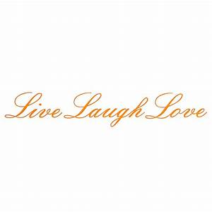 live laugh love removable wall stickers art vinyl quote With kitchen colors with white cabinets with live laugh love wall art stickers