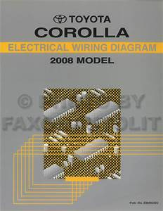 Toyota Corolla 2008 User Manual Pdf