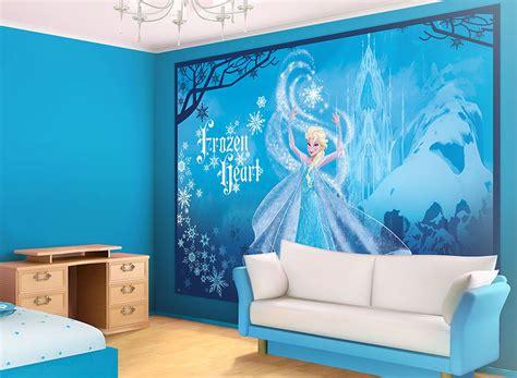 reine des neiges chambre papier peint chambre fille