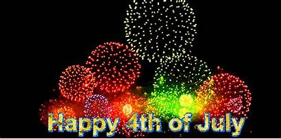 4th July Happy Gifs Independence Usa Fireworks