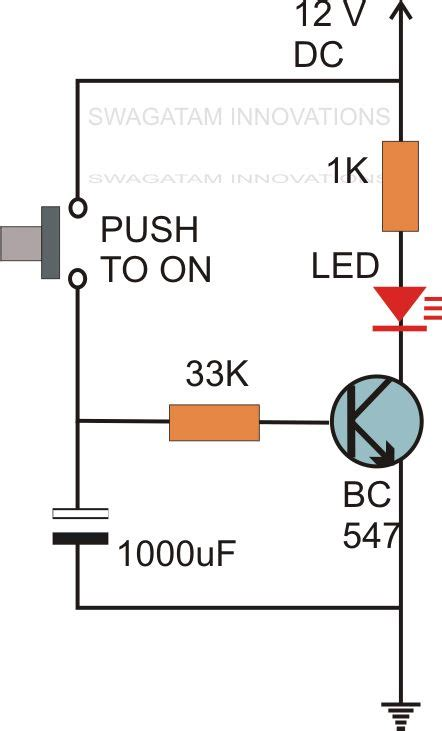 Simple Delay Timer Circuits Explained Electronic Circuit