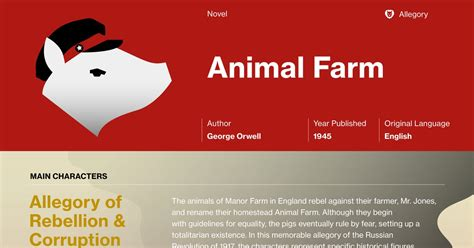 animal farm character analysis  hero
