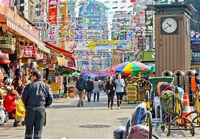 Seoul Market Dongdaemun Korea Namdaemun South Tempat