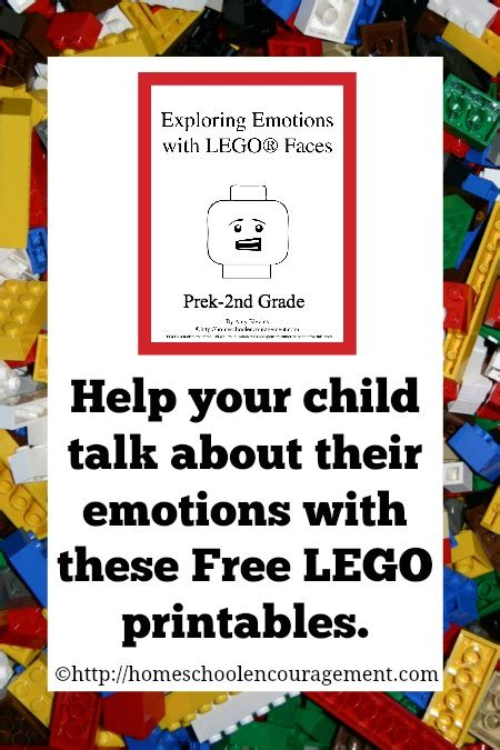 lego homeschool exploring emotions  lego faces