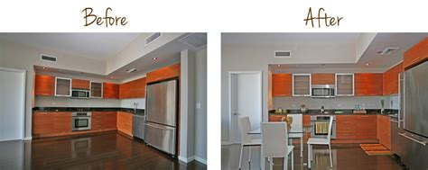 Kitchen Floor Plans And After by Interior Redesign Before After Captiva Design