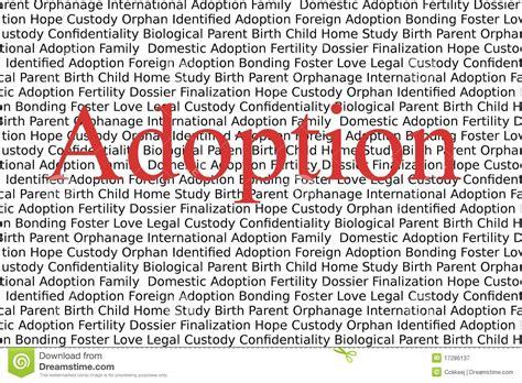 Adoption Royalty Free Stock Photography